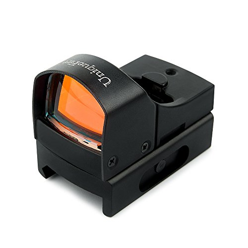 UniqueFire Black 3MOA Tactical Mini Compact Holographic Reflex Micro Red Dot Sight Scope