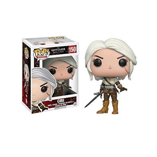 YYBB Juegos Pop La Figura de accion de Witcher-Ciri Exclusivo Figura Coleccionable, Multicolor Figurines