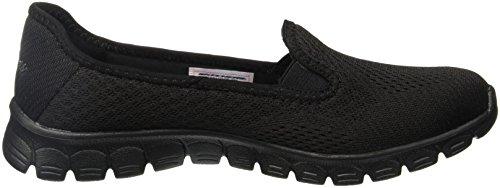 Skechers Ez Flex 3.0 Surround Sound Dames Slip Op Sneakers Zwart