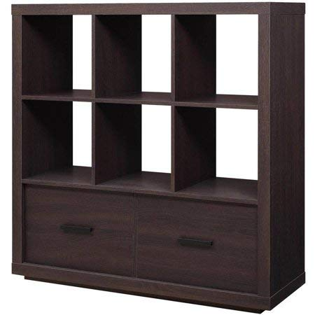 Better Homes & Gardens Steele Room Organizer Unit and Bookcase, for use as a Bookshelf or Display Case