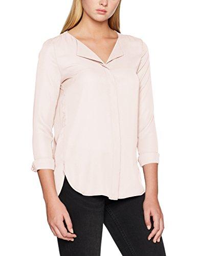 noos Blush L Donna Camicia Peach Blush Shirt Vila s Vilucy peach Rosa wSqTz1nIxn