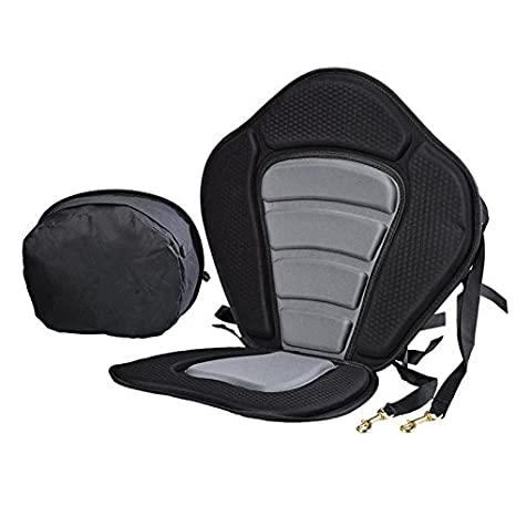 Kayak Seat, Premium Kayak Seats with Adjustable Anti skid EVA Pad and  Detachable Storage Bag