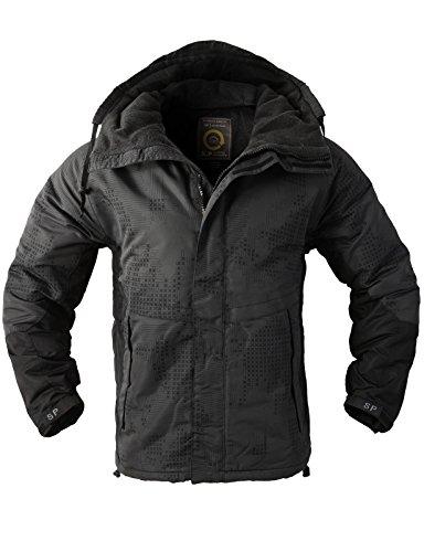 H2h Mens Military Patterned Waterproof Outerwear Hood
