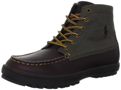 Polo by Ralph Lauren Lorenzo Mid Boot (Toddler/Little Kid/Big Kid) - stylishcombatboots.com