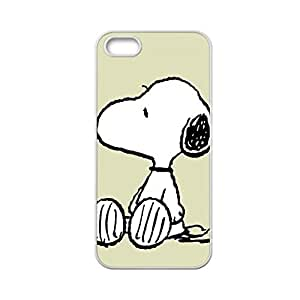 Generic Printing Snoopy 2 Hard Plastic Back Phone Case For Girly For Iphone 5 Gen 5S Choose Design 4