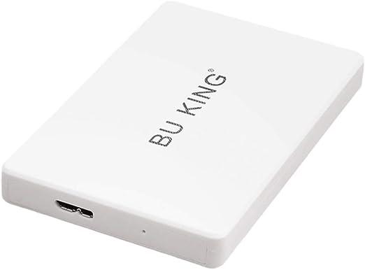 gazechimp 160G 2.5インチUSB 3.0外付けハードディスク拡張ドライブHDDに適用ラップトップPCホワイト