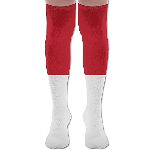 fan products of Monaco Flag Athletic Youth Knee Thigh Socks