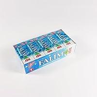 Falim Sugarless Plain Gum met Carbonat en mint aromatische, 20 Pack, 100 Stuks Elk door Falim
