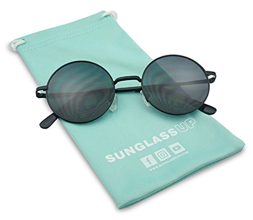 Sunglass Stop - Vintage Small Round Circle Hipster 1960s Trendy Sunglasses - 1960s Mens Sunglasses