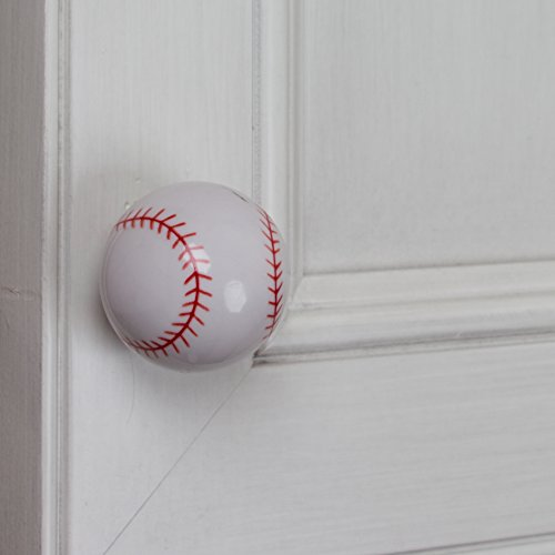GlideRite Hardware 1001-BB-10 Baseball Sports Cabinet Dresser Knobs 10 Pack by GlideRite Hardware (Image #4)