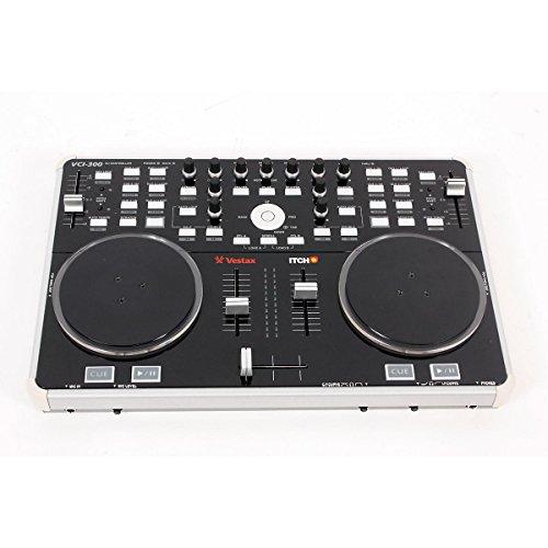 Vestax VCI-300 DJ Controller with Serato ITCH Black 888365212135