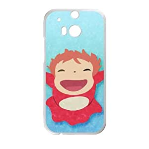 Ponyo HTC One M8 Cell Phone Case White MVC