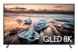 Samsung QN65Q900RBFXZA Flat 65-Inch QLED 8K Q900 Series Ultra HD Smart TV with HDR and Alexa Compatibility (2019 Model)