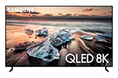 The best TV ever from Samsung, the Samsung QN65Q900RBFXZA Flat 65-Inch QLED 8K Q900 Series Ultra HD Smart TV combines true-to-life 8K HDR picture quality, AI-powered intelligent upscaling, stunning design and smart home-ready features for a g...