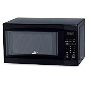 Willz WLCMD207BK-07 Countertop Microwave Oven, 0.7 Cu.Ft/700W Microwave Oven, 6 Cooking Programs LED Lighting Push… 8