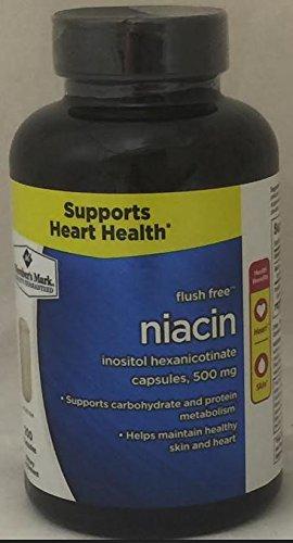 Member's Mark Flush Free Niacin Inositol Hexanicotinate Capsules, 500mg