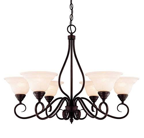 (Savoy House KP-104-6-13 Six Light Chandelier)