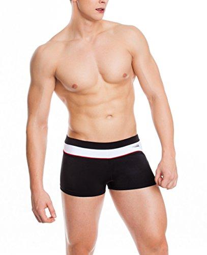 Maillot Protection Speed Malaga bain pour de Noir Slip Tissu Grant de UV xxxl Cordon Résistant Blanc Aqua bain Homme S Cordon tw0n1q6