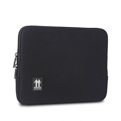 Walk On Water Notebook-Tasche (25.40 cm Schutzhülle für iPad, Schwarz/Weiß Schwarz