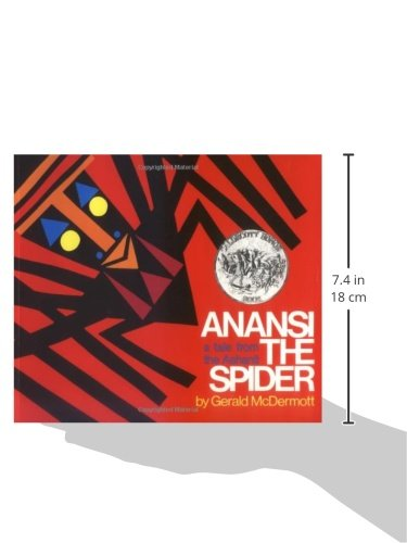 Anansi the spider a tale from the ashanti harcourt school anansi the spider a tale from the ashanti harcourt school publishers 9780805003116 amazon books fandeluxe Image collections