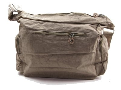 #2118 Schultertasche Handtasche Bag Street crinkle Umhängetasche Nylon