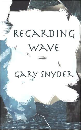 Book Regarding Wave: Poetry