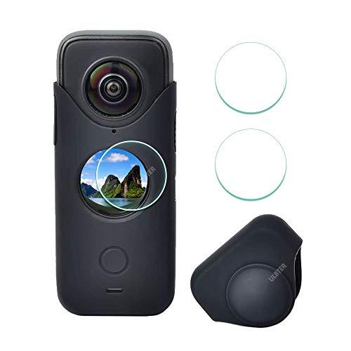 funda + 2 vidrios protectores de lente Insta360 ONE X2 negro