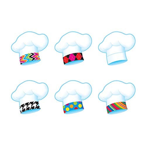 TREND enterprises, Inc. Chef's Hats The Bake Shop Mini Accents Variety Pack, 36 ct