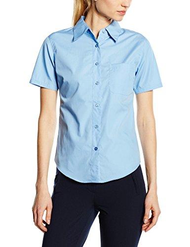 Fruit of the Loom, Camisa para Mujer Azul (Mid Blue)