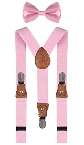 toddler bow ties pink - 5