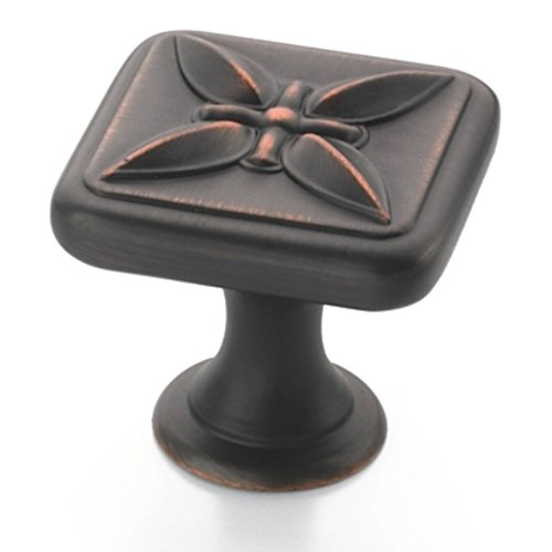 Amerock Sundara Knob 1-1/8-Inch Diameter, Oil Rubbed Bronze #BP27009-ORB
