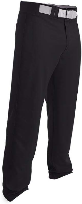 Easton Rival 2 Grey Adult Mens Baseball Pants Open Bottom A167114 White Black