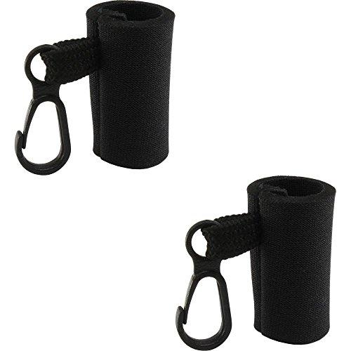Kage 2 Clip-On Neoprene Sleeve Lip Balm Holsters LIPSTICK HOLDER Key Chain Chapstick Holder