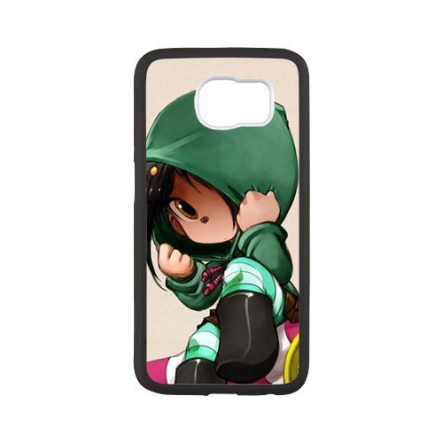 Wreck it ralph Animation Custom Phone Case for SamSung Galaxy s6 (Vanellope And Ralph Costume)