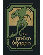 The Lord Of The Rings Green Dragon Tavern: Notebook Planner - 6x9 inch Daily Planner Journal, To Do List Notebook, Daily Organizer, 114 Pages