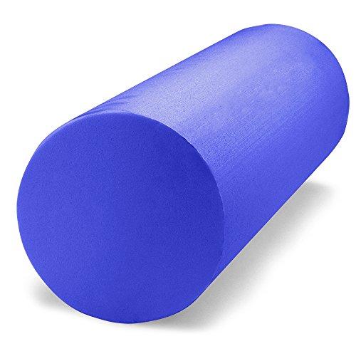 "Crown Sporting Goods SFOM-004 Premium High-Density EVA Foam Roller, Blue, 12 x 6"""