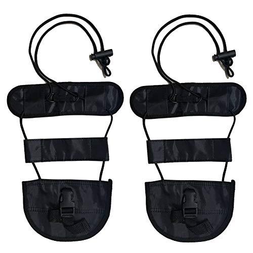 LGDehome Travel Bag Bungee,Strong Luggage Straps Adjustable Elastic Suitcase Belt Durable Bag Holder Lightweight Traveling Bag Accessories Black (Pack of ()