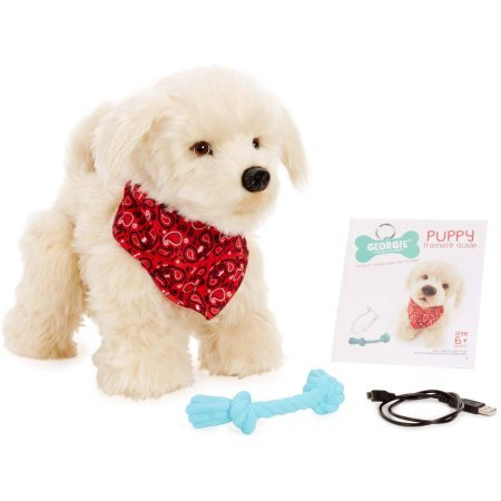 Georgie Interactive Plush Electronic Puppy by Generic