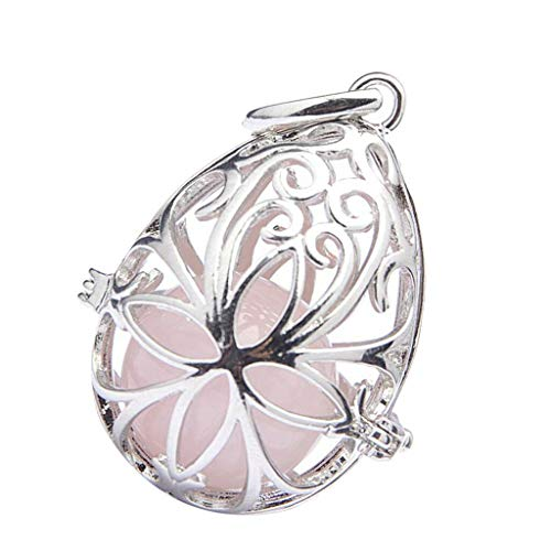 - Trendy Tree of Life Opal Crystals Necklace Gemstone Pendant Love for Family Necklace Jewelry Crafting Key Chain Bracelet Pendants Accessories Best| Color - Pink