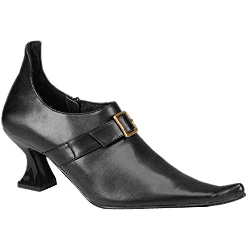 Women's Top Buckle Witch Shoes (Shoe Size 5-6) - Plats Costume Shoes