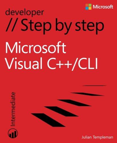 Microsoft Visual C++/CLI Step by Step (Step by Step Developer) by Microsoft Press