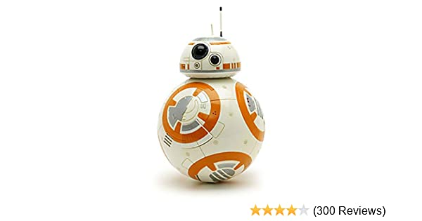 Disney Store Star Wars BB-8 Talking 9.5 inch Figure Droid Sounds Moving 2015 NEW