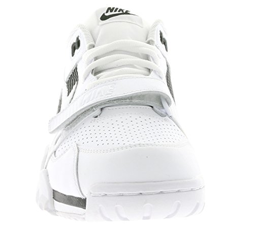 Nike Air Trainer 2, Zapatillas de Senderismo para Hombre Blanco (white/white-black-gym red)