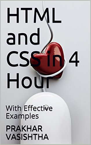 HTML and CSS in 4 Hour: With Effective Examples (Founder Book 7)