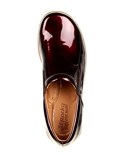 Slip Shoe on RKH218 Comfort Burgundy 4ever Women's 4EurSole qIZFRxwvn