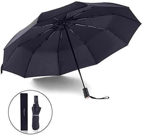 Bodyguard Innovation 10 Fibreglass Ribs Travel/Golf Umbrella -