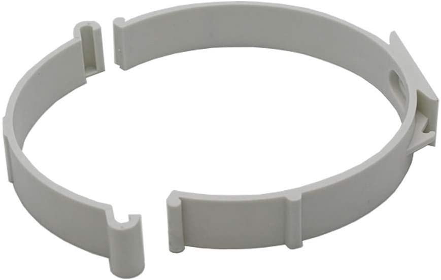 Kair Round Ducting Pipe Retaining Clip 125mm 5 inch Support Bracket for Plastic Duct or Flexible Hose