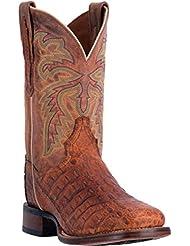 Dan Post Mens Denver Caiman Cowboy Boot Square Toe - Dp3854