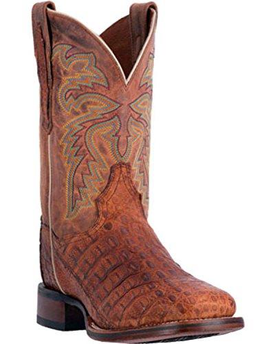 Dan Post Mens Denver Kajman Cowboy Boot Fyrkantig Tå - Dp3854 Cognac