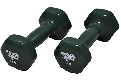 Perform Better Vinyl Covered Dumbell Set, Pack of 2